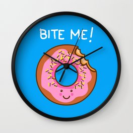 Tasty Comeback Wall Clock