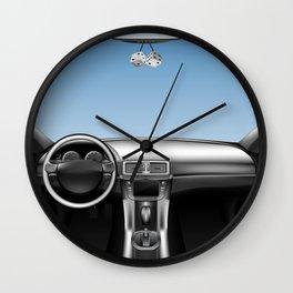 Auto Car Dashboard Wall Clock