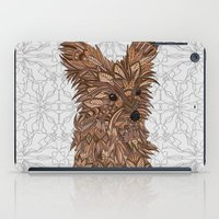 yorkie iPad Cases featuring Cute Yorkie by ArtLovePassion