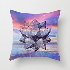 Sacred Geometry Universe 8 Throw Pillow