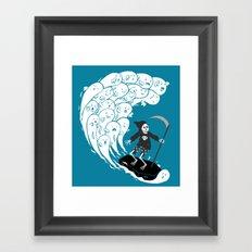 R.I.P.  Tide Framed Art Print