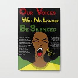 Black Lives Matter (ALT) Metal Print