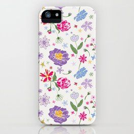 Fragrant Blooms iPhone Case