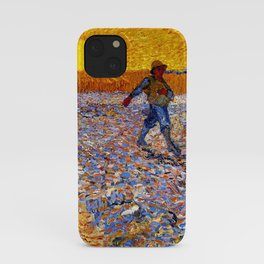 Vincent Van Gogh The Sower With Setting Sun iPhone Case