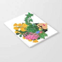 Keep Blooming Friducha Notebook