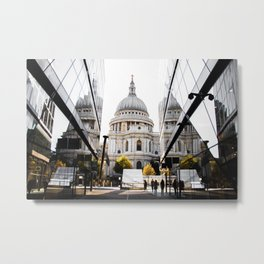 Saint Paul and his Twins Metal Print
