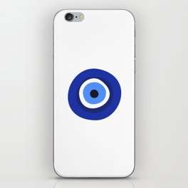 evil eye symbol iPhone Skin