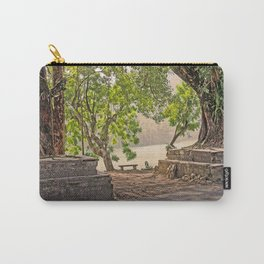 Tropical Hardwood Trees in Pokhara, Phewa Lake, Nepal Carry-All Pouch