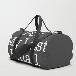 Per My Last Email Duffle Bag