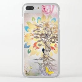 Golden Tree Of Life Clear iPhone Case