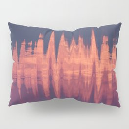 Neon Waves Pillow Sham