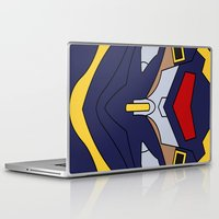 evangelion Laptop & iPad Skins featuring Evangelion Mark.06 by Bunny Frost