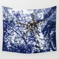 ed sheeran Wall Tapestries featuring ShangriLa{ed}  by Luminashity