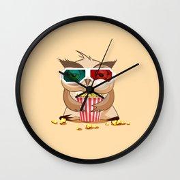 Eat Sleep Play Repeat Wall Clock