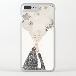 HAIR IN THE CLOUDS Clear iPhone Case