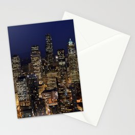 Quiet In My Town Stationery Cards