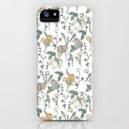 Spring Garden -white iPhone Case
