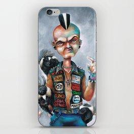 Skunk Punk iPhone Skin