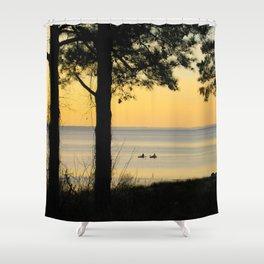 Go Kayaking Shower Curtain