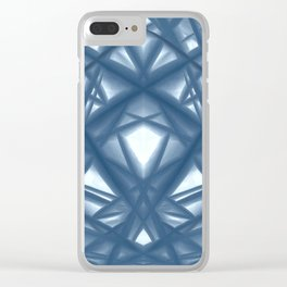 Concrete wall texture Clear iPhone Case