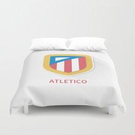 Atletico Madrid Smooth Logo Duvet Cover