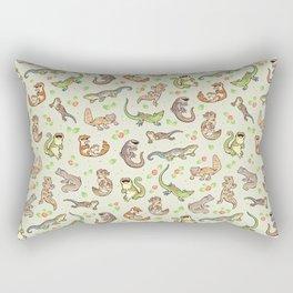 Spring geckos Rectangular Pillow