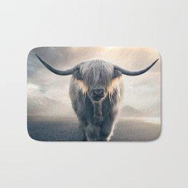highland cattle scotland Bath Mat