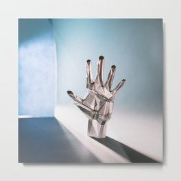Hand #4 Metal Print