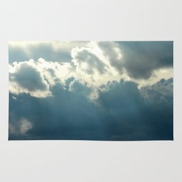 Streaks In The Clouds Rug