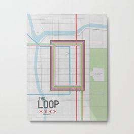 Chicago's Loop Metal Print