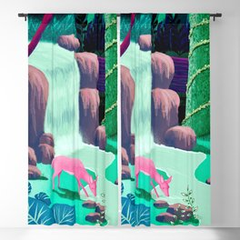 The Whispering Waters of Eventide Vale Blackout Curtain