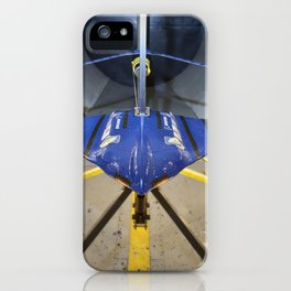471. Joined Wing Wind Tunnel Model iPhone Case