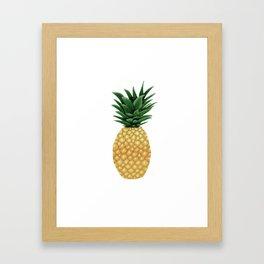 Just Sweet Ol' Me - Pineapple Framed Art Print