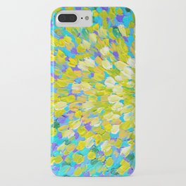 SPLASH 2 - Bright Bold Ocean Waves Beach Ripple Turquoise Aqua Lime Lemon Colorful Rainbow Wow iPhone Case
