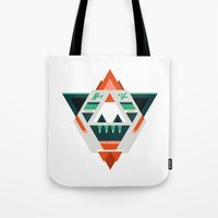 sasquatch Tote Bags featuring Sasquatch boss by Samuel Boucher