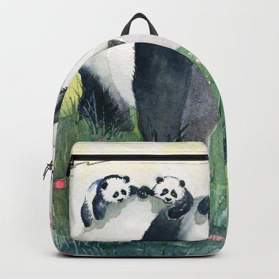 Panda family Backpack