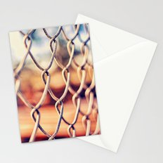 Fence Bokeh Stationery Cards