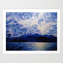 Blue Mountain No.1 Art Print
