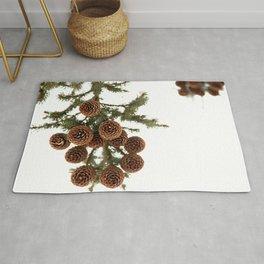 (Spruce or Fir) Cones Rug