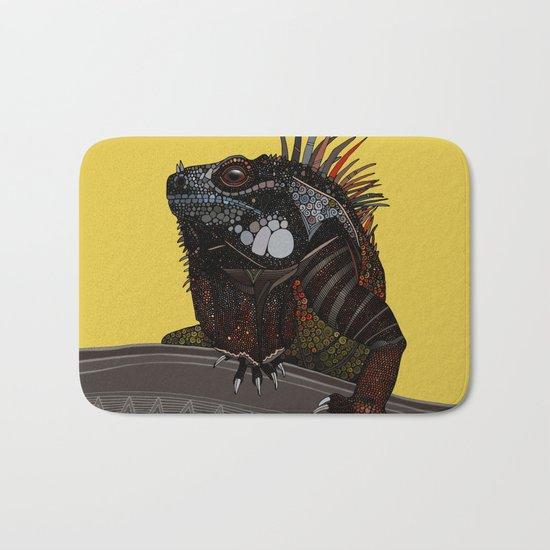 iguana gold Bath Mat
