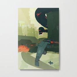 III. Breaching the City Walls Metal Print