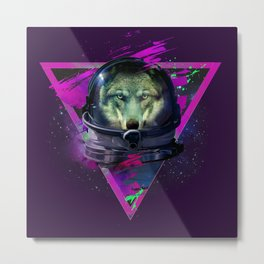 Lonely Astronaut Metal Print