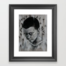 Pretty. Good. Framed Art Print