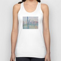 monet Tank Tops featuring Claude Monet - Le Grand Canal by Elegant Chaos Gallery