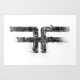 ff logo Art Print