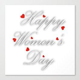 International womens day Canvas Print