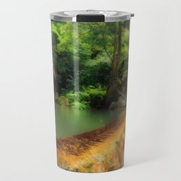 Thermal pool in Azores Travel Mug