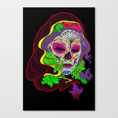 Darlin' Of The Dead Canvas Print