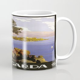Vintage poster - Lake Garda Coffee Mug