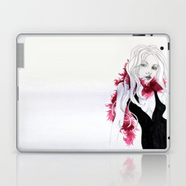 The Lady in Red Laptop & iPad Skin
